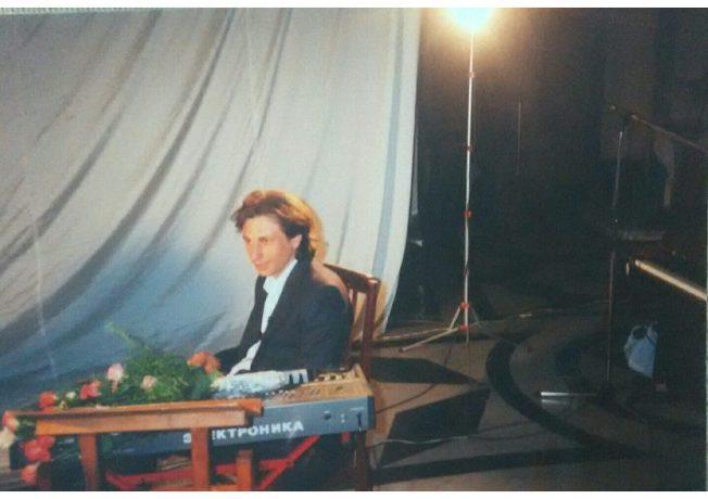 Record release show, Lviv, 1996