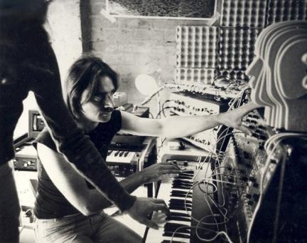 Steve Maxwell Von Braund from Cybotron. Melbourne Studio c. 1975.