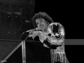 Singer Roger Troutman from Zapp, performs at the U.I.C. Pavilion in Chicago, Illinois in 1982.