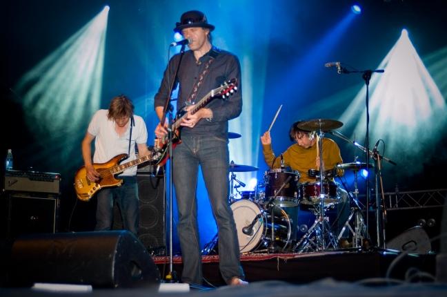 22-Pistepirkko performing at the Ilosaarirock festival on the 11th of July 2008 in Joensuu, Finland.